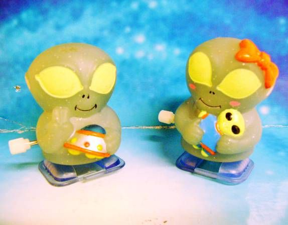 Space Toys - Wind-up - Roswell Alien Children