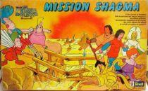 Spartakus & the Sun Beneath the Sea - board game - Mission Shagma - Ceji-Revell