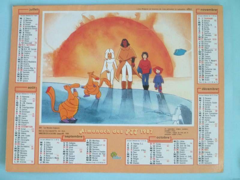 Spartakus and the Sun beneath the Sea - 1984 Post Office Calandar