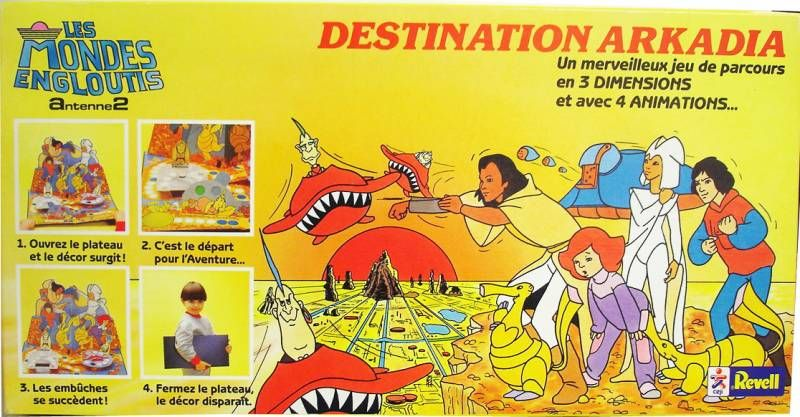 Spartakus and The Sun Beneath the Sea - board game - Destination Arkadia - Ceji-Revell