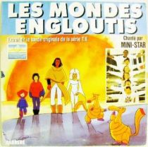 Spartakus and the Sun beneath the Sea - Mini-LP Record - Original French TV series Soundtrack - Carrere Records 1985