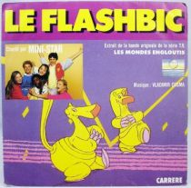 Les Mondes Engloutis - Disque 45Tours - Le Flashbic (Mini-Star) - Carrere 1985