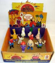 Spartakus and the Sun beneath the Sea - PVC Figures - Complete set of 9 with display box