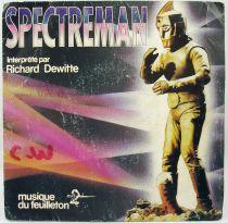Spectreman - Disque 45Tours - Musique du feuilleton Tv - EMI 1982