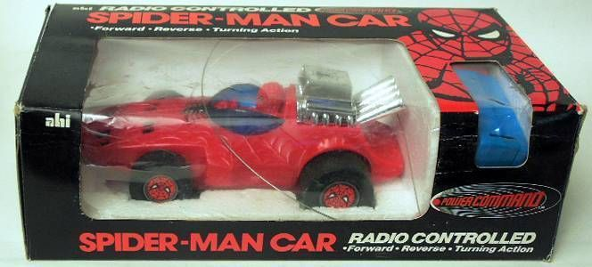 Spiderman - A.H.I. - Remote Controled SpiderBuggy