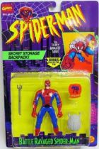 Spiderman - Animated Serie - Battle Ravaged Spider-Man