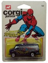 Spiderman - Corgi Junior Ref. 56 - Spidervan (mint on card)