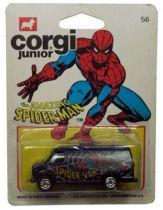Spiderman - Corgi Junior Ref. 56 - Spidervan (mint on card)