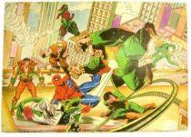 Spiderman - Multi-Print - Spiderman (Stamp set)
