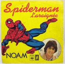 Spiderman l\'Araignée (par Noam) - Disque 45Tours - CBS Records 1979