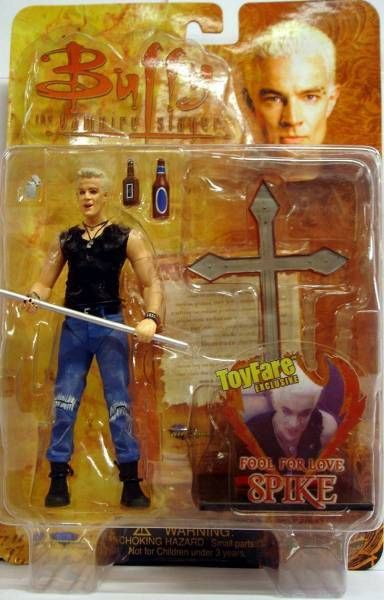 Spike - Fool for Love - Diamond Action Figure (mint on card)