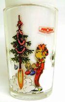Spirou - Amora Mustard glass - Happy Christmas