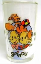 Spirou - Amora Mustard glass - Happy Christmas