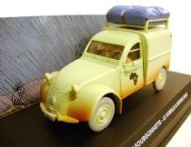 Spirou - Atlas Edtions Vehicle - Light Van Citro�n 2CV from Gorilla\\\'s in Good Shape (Mint in box)