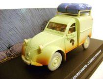 Spirou - Atlas Edtions Vehicle - Light Van Citroën 2CV from Gorilla\'s in Good Shape (Mint in box)