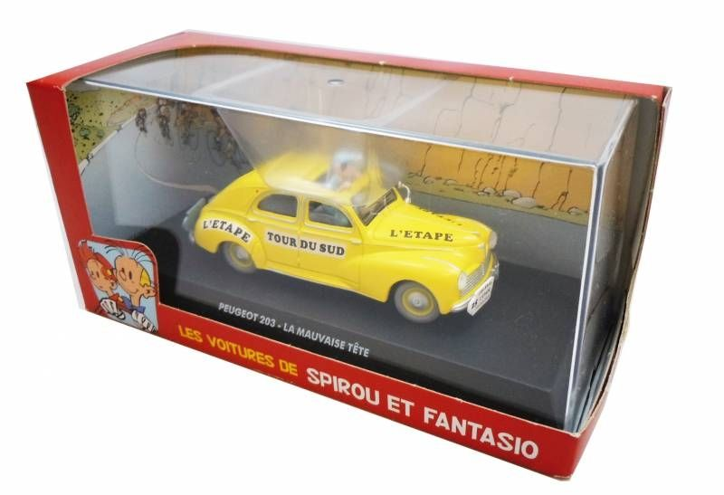 Spirou - Atlas Edtions Vehicle - Peugeot 203 from Bad Head (Mint in box)