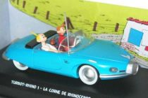 Spirou - Atlas Edtions Vehicle - The Turbot Rhino 1 from La corne de rhinocéros (Mint in box)