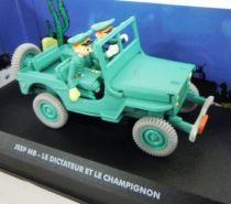 Spirou - Véhicule Editions Atlas - La Jeep MB du Dictateur & le Champignon (neuve en boite)