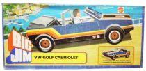 Spy series - Mint in box Blue VW Golf Cabriolet (ref.8299)