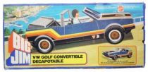 Spy series - Mint in box Blue VW Golf Cabriolet (ref.8299)