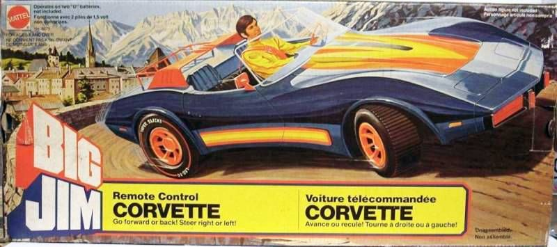 Spy series - Mint in box Corvette (ref.8275)
