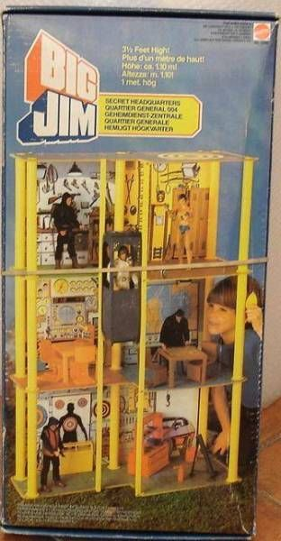 Spy series - Mint in box Secret Headquarters (ref.5262)