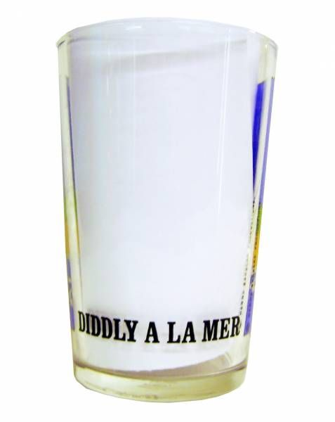Squiddly Diddly - Amora mustard glass