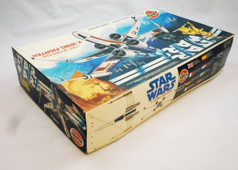 Star Wars - Airfix 1983 - Luke Skywalker\'s X-Wing Fighter