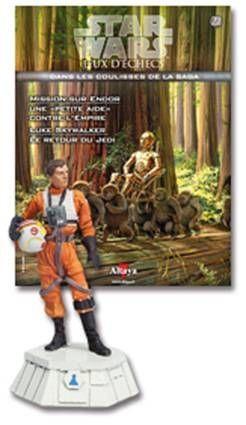 Star Wars - Altaya Chess - #22 Rebal Pilot - White Pawn