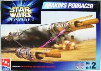 Star Wars Episode 1 - AMT-ERTL Model Kit - Anakin\'s Podracer (1-32ème) 01