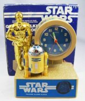 Star Wars - Bradley Time 1984 - Quartz Talking Alarm Clock (C-3PO & R2-D2)