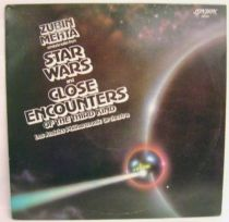Star Wars & Close Encounters of the Third Kind (by L.A. Philarmonic Orchestra) - Record LP - Decca Record 1978