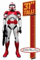 Star Wars - Jakks Pacific - Giant Clone Shock Trooper (31\'\')
