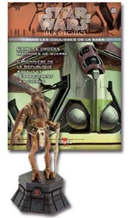 Star Wars - Jeux d\'Echec Altaya - #43 Poogle the Lesser - Tour noire