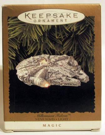 Star Wars - Millennium Falcon - Keepsake Ornament - Hallmark 1996