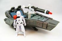 Star Wars - The Force Awakens - First Order Snowspeeder & Snowtrooper Officer (loose)