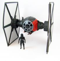 Star Wars - The Force Awakens - First Order Special Forces TIE Fighter & Pilot (loose)