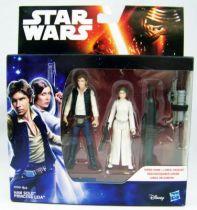 Star Wars - Le Reveil de la Force - Han Solo & Princess Leia (Episode 4) 01