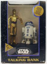 Star Wars - Think Way - Tirelire animée parlante C-3PO & R2-D2