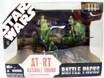 Star Wars (30th Anniversary) - Hasbro - AT-RT Assault Squad (Battle Packs)