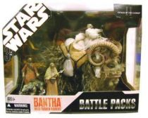 Star Wars (30th Anniversary) - Hasbro - Bantha with Tusken Raiders (Battle Packs)