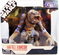 Star Wars (30th Anniversary) - Hasbro - Battle Rancor with Felucian Rider and Saddle (The Force Unleashed)