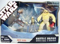 Star Wars (30th Anniversary) - Hasbro - Hoth Patrol (Battle Packs)
