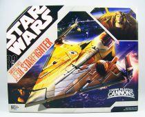 Star Wars (30th Anniversary) - Hasbro - Saesee Tiin\'s Jedi Starfighter