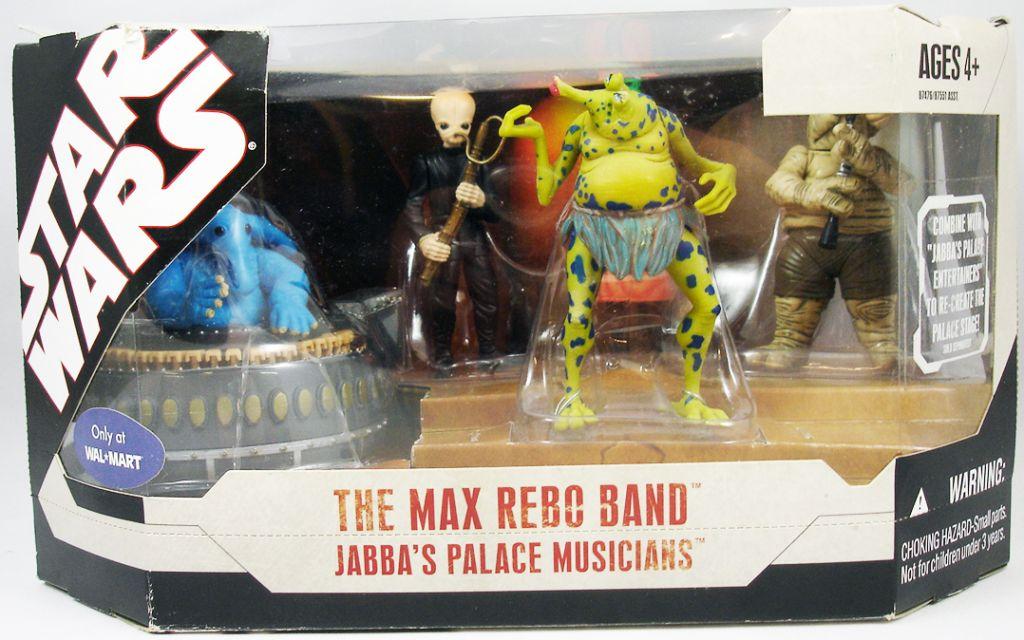 Star Wars 30th Anniversary - Hasbro - The Max Rebo Band Jabba\'s Palace Musicians