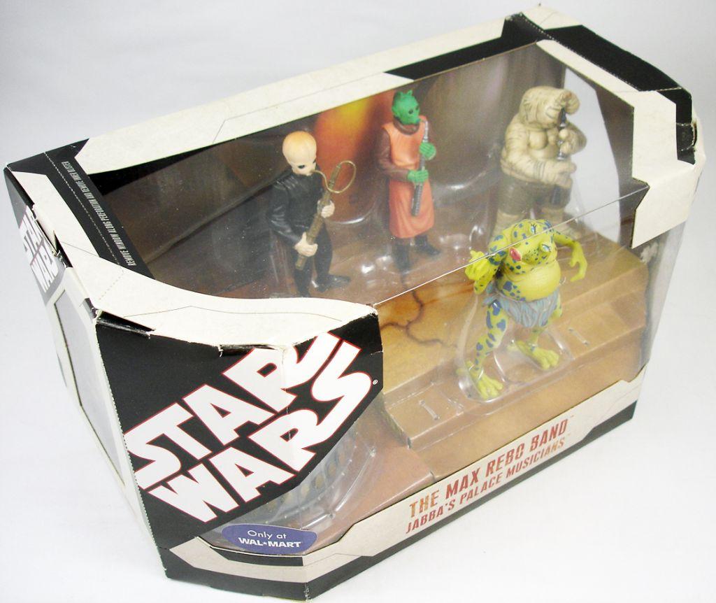 Star Wars 30th Anniversary - Hasbro - The Max Rebo Band Jabba\'s Palace Musicians (1)