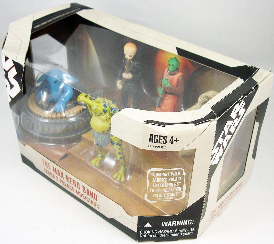 Star Wars 30th Anniversary - Hasbro - The Max Rebo Band Jabba\'s Palace Musicians (2)