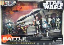 Star Wars (Clone Wars) - Hasbro - Battle Packs \'\'The Hunt for Grievous\'\'