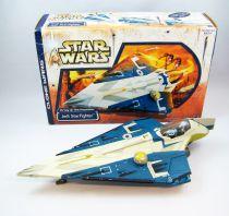 Star Wars (Clone Wars) - Hasbro - Jedi Starfighter (loose with box)