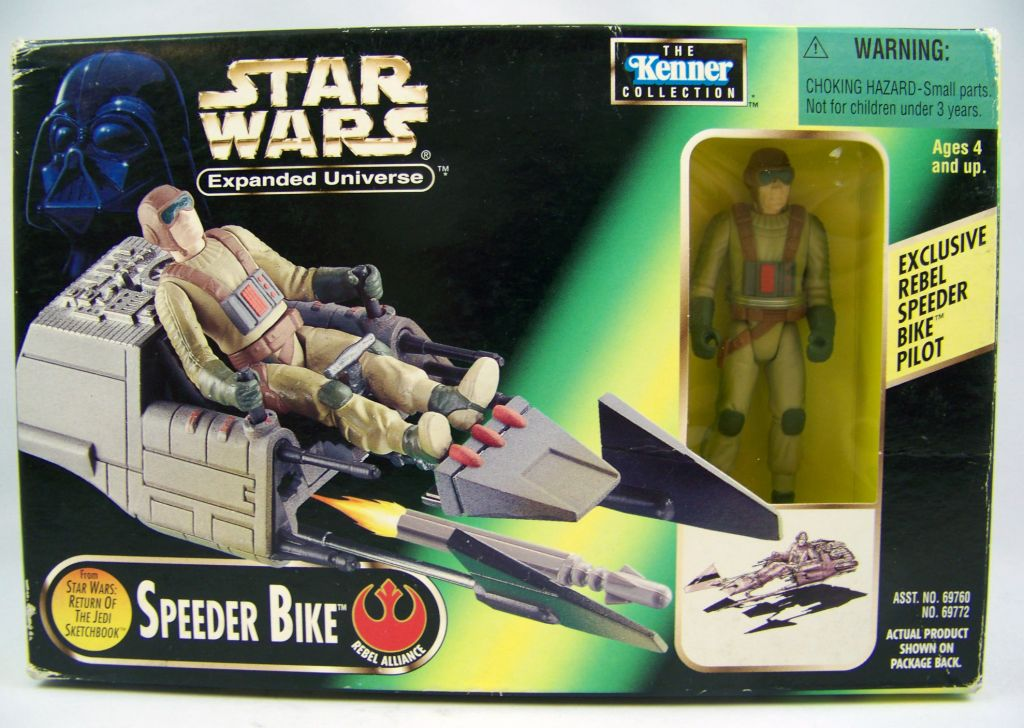 Star Wars (Expanded Universe) - Kenner - Speeder Bike (Concept) 01